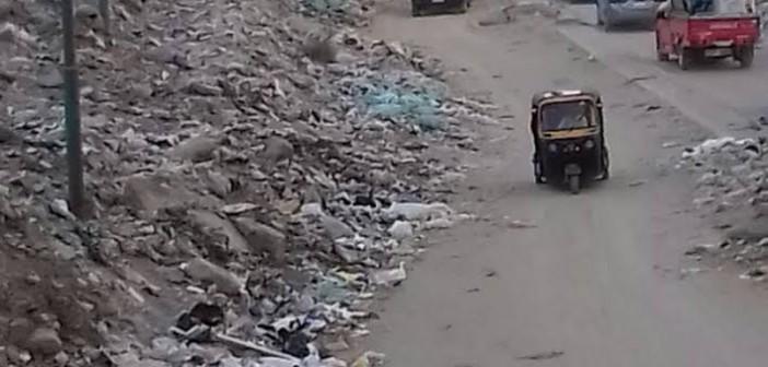 سكان فيصل يطالبون بتطوير شارع «كعبيش».. ورفع القمامة (صور)