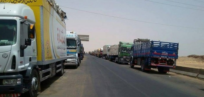 25 يومًا عَ الحدود.. سائقو النقل يطالبون الخارجية بإنهاء تأشيرات دخول السودان (صور)