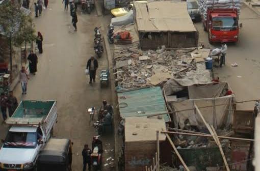 أهالي «ترعة بشتيل» يطالبون برفع الإشغالات.. وتشجير الشارع (صور)
