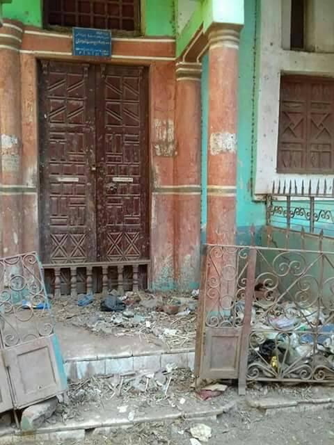 بعد 4 سنوات على إغلاقه.. أهالي «ميت ناجي» يطالبون بترميم مسجد القرية(صور)
