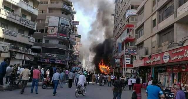 ▶️ بالفيديو.. لحظة اندلاع حريق في أحد محلات الوجبات السريعة بطنطا