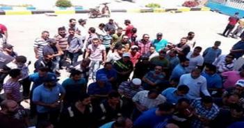 اعتصام عمال في هيئة قناة السويس