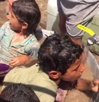 صنبور مياه عمومي لا يكفي.. قري «دهشور والعياط» تعاني العطش (صور)