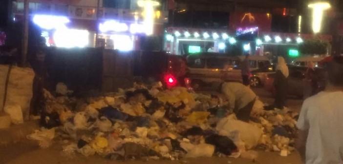 تفاقم أزمة القمامة في العجمي (صور)