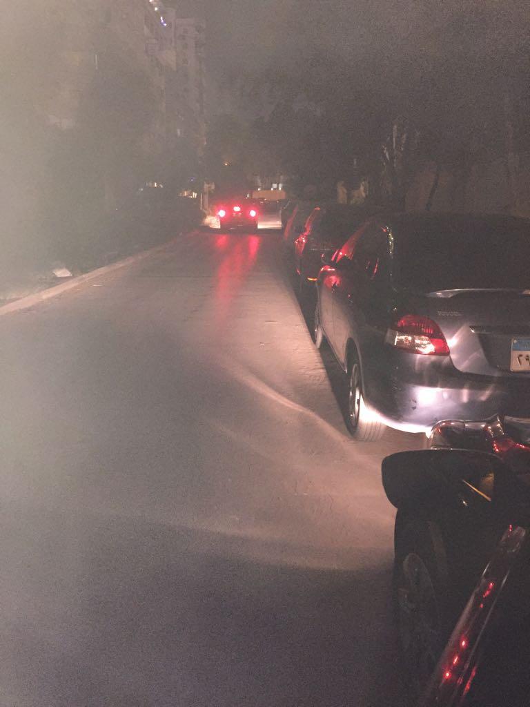 مطالب بإعادة إنارة شارع مؤيدي لنفق العروبة في مصر الجديدة