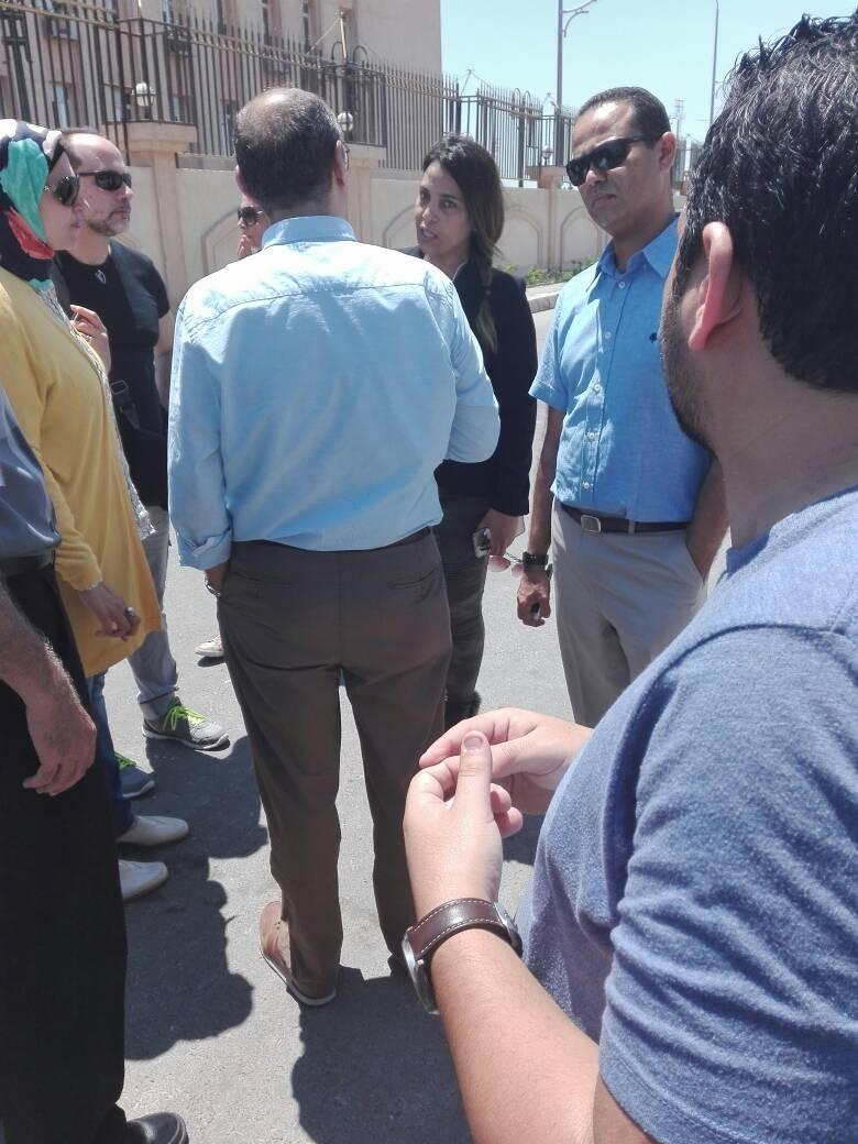 وقفة احتجاجية لأولياء أمور طلاب «الإسكندرية للغات» أمام ديوان المحافظة