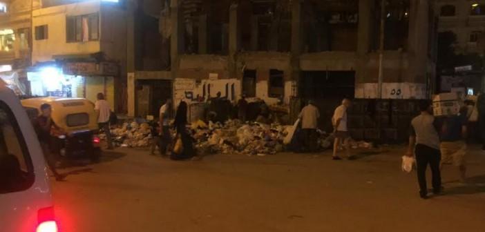 القمامة تحاصر مدخل «بيانكي»بالإسكندرية وانتقادات لتجاهل المحافظة رفعها(صور)