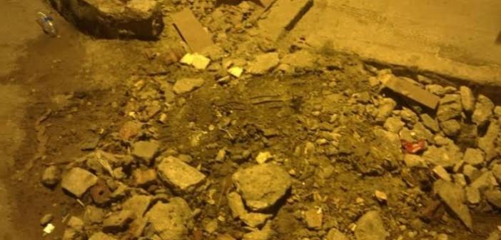 مطالب بترميم أرصفة شارعين بالمهندسين بعد أعمال صيانة