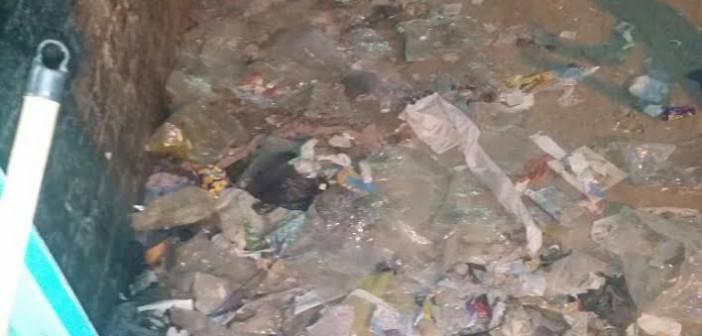 سكان فاقوس يشكون من القمامة