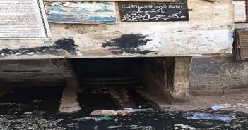الصرف يحاصر سجل مدني منفلوط