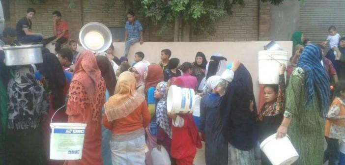 أهالي «الحومة» في بني سويف: المياه مختلطة بالصرف وتصيبنا بالمرض (صور)