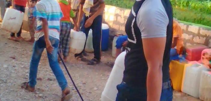 أهالي «المشايعة قبلي» يشكون نقص مياه الشرب (صورة)