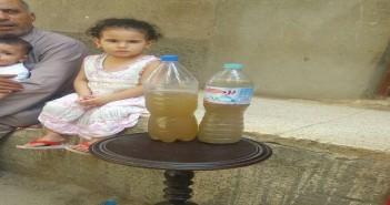 تغير لون مياه الشرب في «فزارة» بالبحيرة
