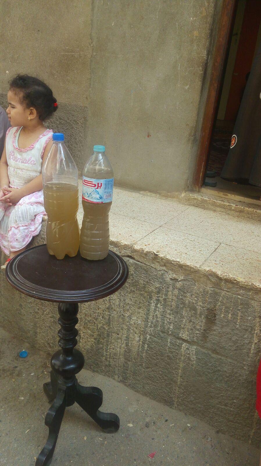 .. تغير لون مياه الشرب في «فزارة» بالبحيرة