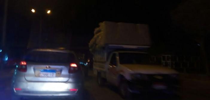 سكان «القومية» بإمبابة يطلبون دوريات مرور لتنظيم حركة السير (صور)