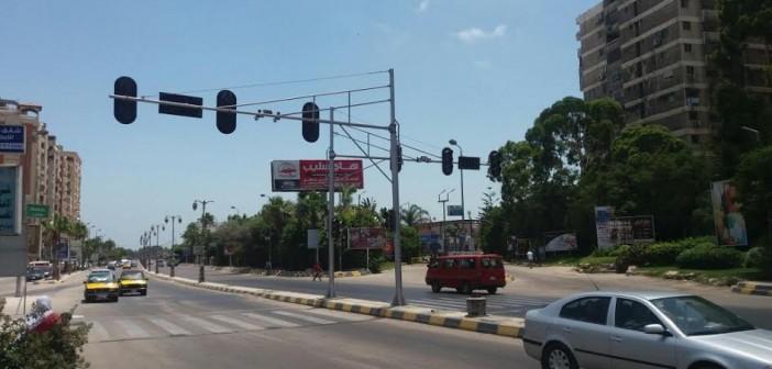 مواطن يطالب بإصلاح إشارة مرور  «جرين بلازا» بالإسكندرية: قدمت 3 بلاغات ومفيش جديد
