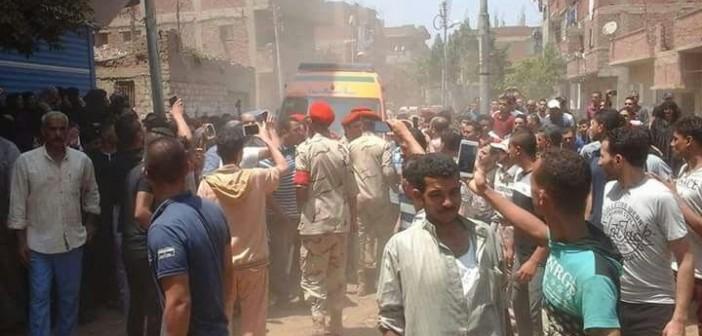 صور.. تشييع جنازة الشهيد أحمد شبراوي ضحية الحادث الإرهابي برفح