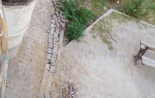 مواطن يطالب جهاز «العبور» بإعادة رصف شارع بعد تكسيره لإصلاح ماسورة مياه (صور)