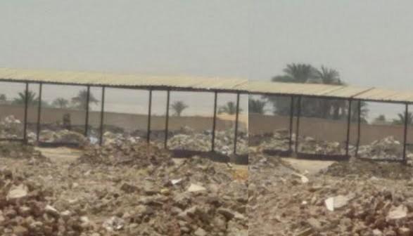 سوق «أولاد سلامة» أنشأته الدولة ليتحول لمقلب قمامة بسبب الإهمال..(صور)