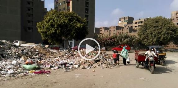 ▶️تفاقم أزمة القمامة في «الشوربجي» على ترعة عبدالعال بالجيزة (فيديو)