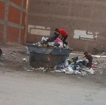 سكان شارع  الفاتح بـ«طنطا» يشكون انتشار القمامة به..(صورة)