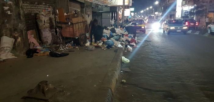 استياء بين سكان لوران بالإسكندرية من انتشار القمامة (صورة)