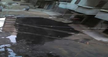 سكان «الفلكي» بالإسكندرية يشكون غرق شارع في مياه الصرف