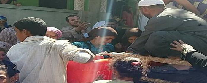 بني سويف׀ «الفشن» دون مياه منذ 3 أشهر.. والأهالي: نستخدم مياه الترع (صور)