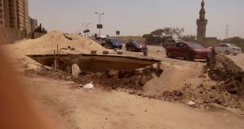 مطالب بردم حفرة عميقة قريبة من محور المشير بمدينة نصر