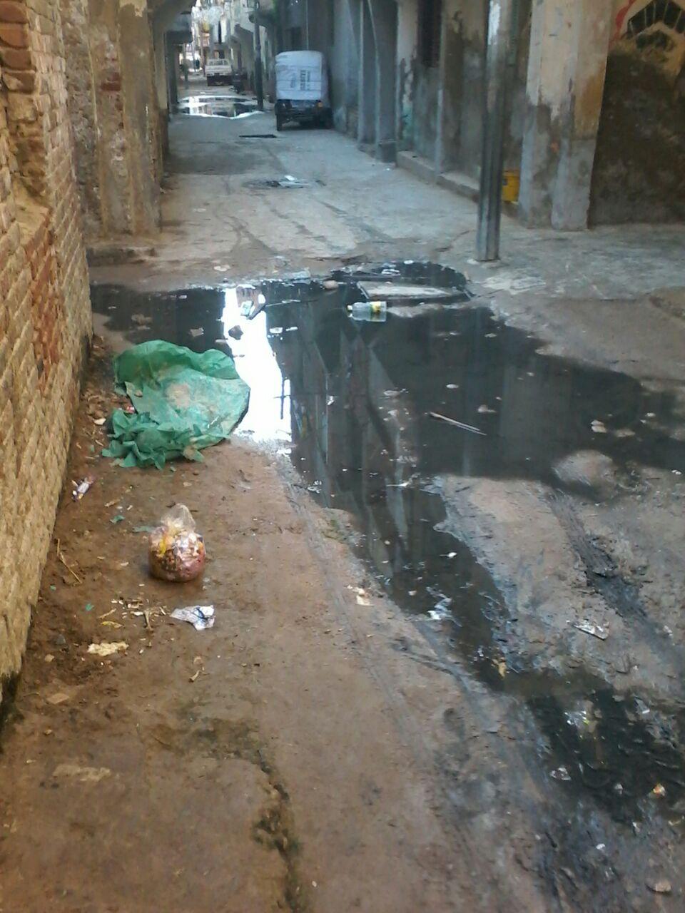 سكان «طه البيضا» بالبحيرة يطالبون بسرعة إنهاء مشروع الصرف الصحي