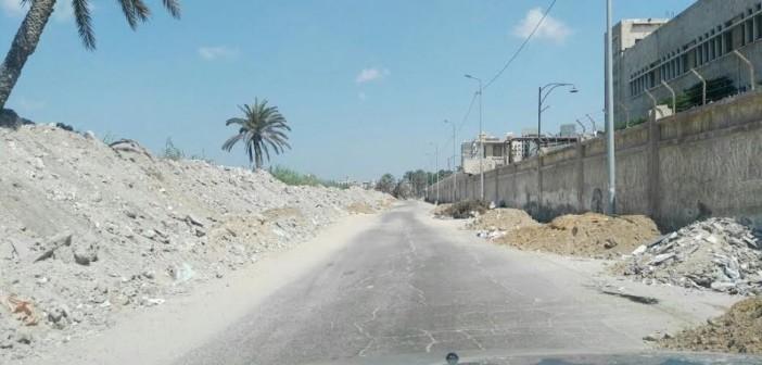 مطالب برفع القمامة من شوارع في سموحة بالإسكندرية (صور)