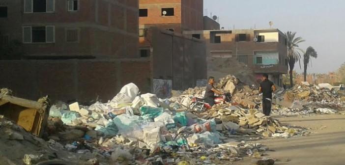 صور.. مطالب برفع القمامة ومخلفات البناء من شوارع المرج