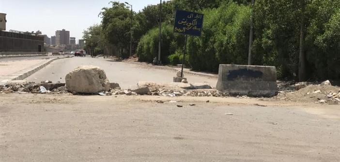 مطالب بإصلاح كوبري «طره المعادي» المغلق منذ 5 أشهر (صورة)