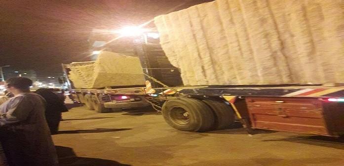 حركة النقل الثقيل في شوارع أسوان تثير مخاوف المواطنين (صور)
