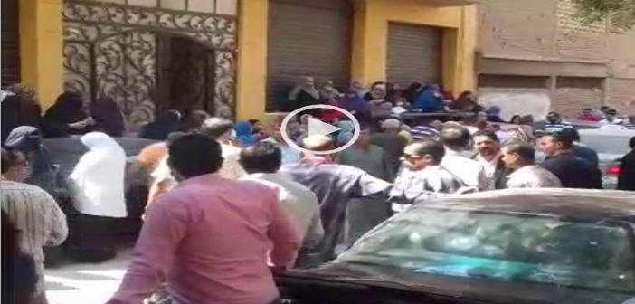 ▶️ بالفيديو.. وقفة احتجاجية للعاملين بمشروع محاجر الشرقية