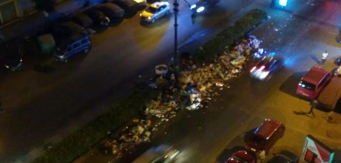 مواطن ينتقد تدني مستوى النظافة بمنطقة بحري بالإسكندرية (صور)