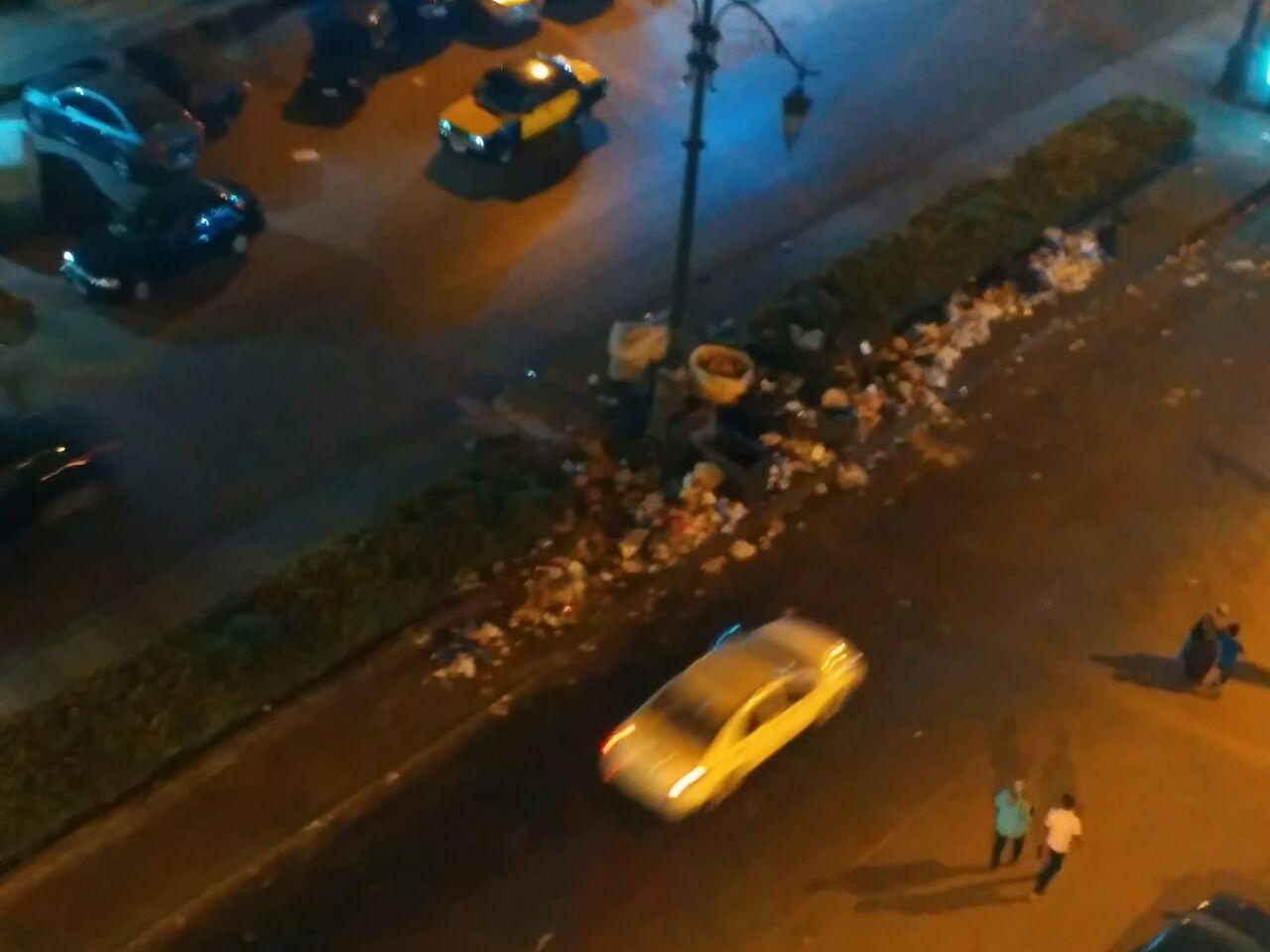 مواطن ينتقد تدني مستوى النظافة بمنطقة بحري بالإسكندرية