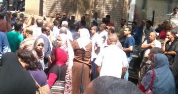 اعتصام عمال المحاجر بالشرقية