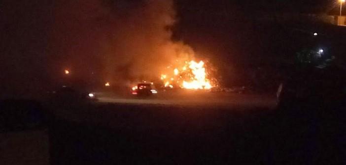 سكان الكيلو 4.5 يشكون حرق القمامة بالقرب من المنطقة السكنية (صور)
