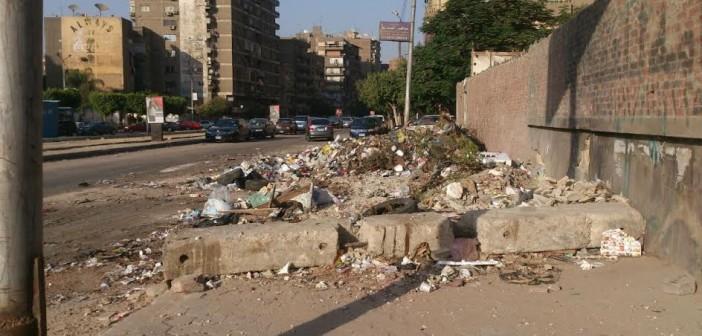 بالصور.. انتشار القمامة بشوارع «منشية البكري» واستياء من سكان المنطقة