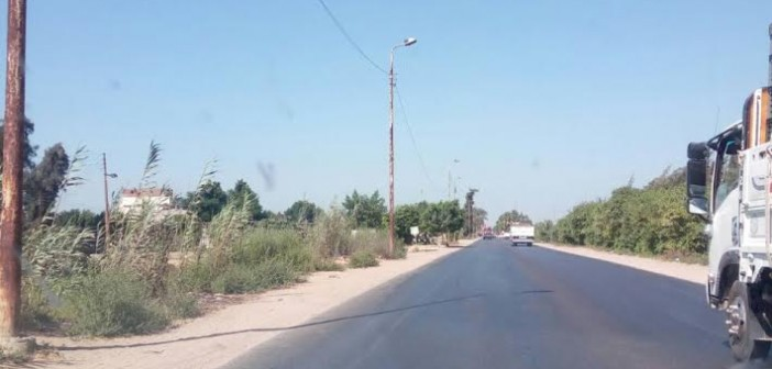 مطالب بتطوير طريق «أبو المطامير» وتركيب أعمدة إنارة جديدة..(صور)