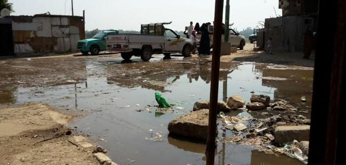 الجيزة׀ أهالي «القطا» يطالبون بتوصيل الصرف الصحي للقرية..(صور)