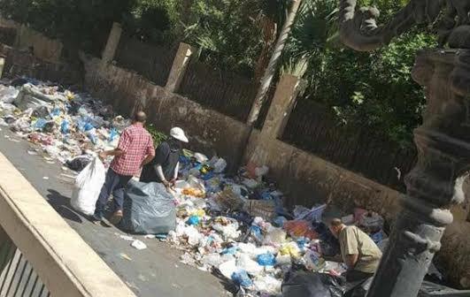 سكان جليم يشكون انتشار القمامة.. وتباطؤ المسؤولين في رفعها (صور)