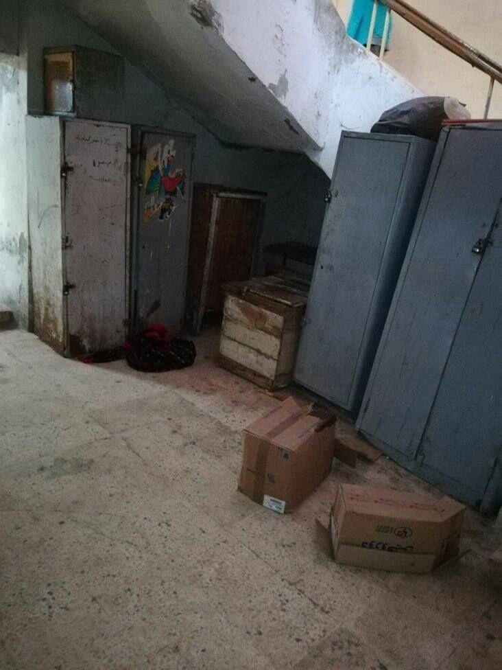 الإهمال يطالب مستشفى الطلبة في طنطا.. والمكاتب تسبح في الصرف الصحي