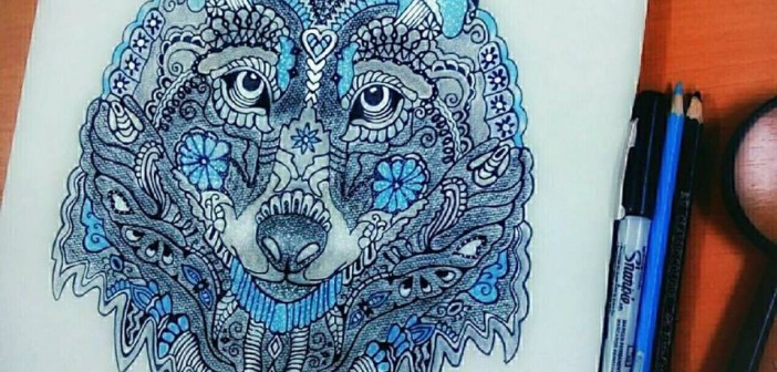 محمود ياسر.. موهبة شابة في الرسم بـ«الجاف والفحم»