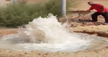 سكان المنطقة السابعة بـ«ابني بيتك» يشكون تهالك شبكة المياه (فيديو)