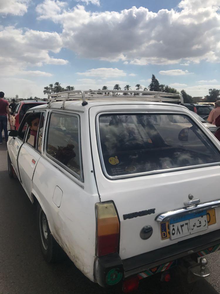 بالصور.. قطع طريق القاهرة – الإسكندرية بعد مصرع شخص أمام قرية «الجزائر»