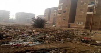 بالصور.. استياء من تردي حال مساكن السلام ببني سويف