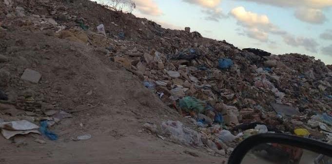 بالصور.. انتشار القمامة في منطقة «الحضرة» بالإسكندرية