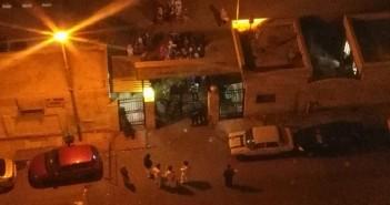 وقفة احتجاجية في المدينة الجامعية لطالبات جامعة الإسكندرية بعد صعق طالبتين بالكهرباء (صور وفيديو)